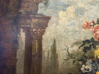 Still Life with Classical Ruins, 18th - 19th Century - Helen Storey Antiques