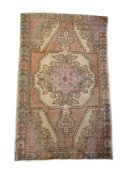 Rug - SEMI-ANTIQUE OUSHAK RUG