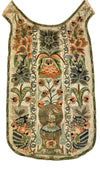 Textile Embroidery - 18TH CENTURY FRENCH HAND-EMBROIDERED CHAUSABLE