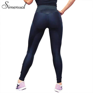 Simenual 2018 activewear fitness jeggings athleisure