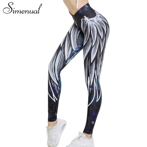 Simenual 3D sporting fitness legging athleisure bodybuilding