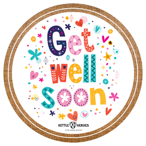 Get Well Soon - Popcorn Gift Tin - Kettle Heroes Artisan Popcorn
