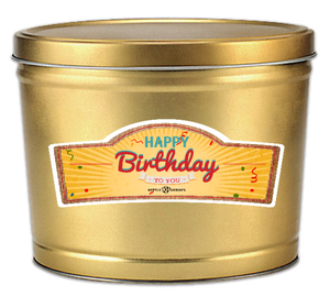 Happy Birthday To You - Popcorn Gift Tin - Kettle Heroes Artisan Popcorn