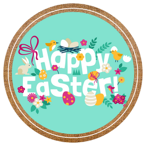 Happy Easter - Popcorn Gift Tin - Kettle Heroes Artisan Popcorn
