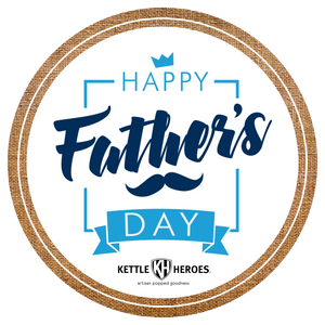 Happy Father's Day - Popcorn Gift Tin - Kettle Heroes Artisan Popcorn