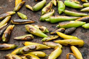 Roasted Hatch Green Chiles | Kettle Heroes Artisan Popcorn