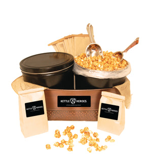 Popcorn Party Box Kit - Kettle Heroes Artisan Popcorn