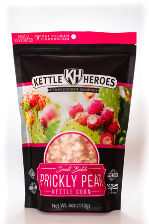 Prickly Pear Kettle Corn - Kettle Heroes Artisan Popcorn