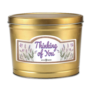 Thinking of You - Popcorn Gift Tin - Kettle Heroes Artisan Popcorn