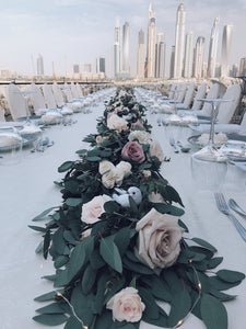 Wedding flower decor in dubai, wedding flowers