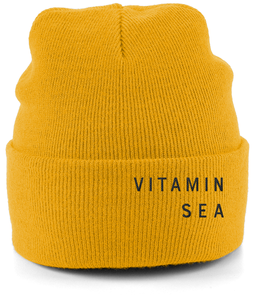 Vitamin Sea Cuffed Beanie