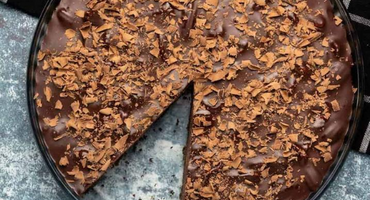 No-Bake Vegan Chocolate Pecan Torte