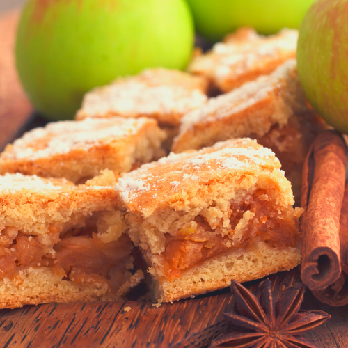 Fall Paleo Apple Pie Bars