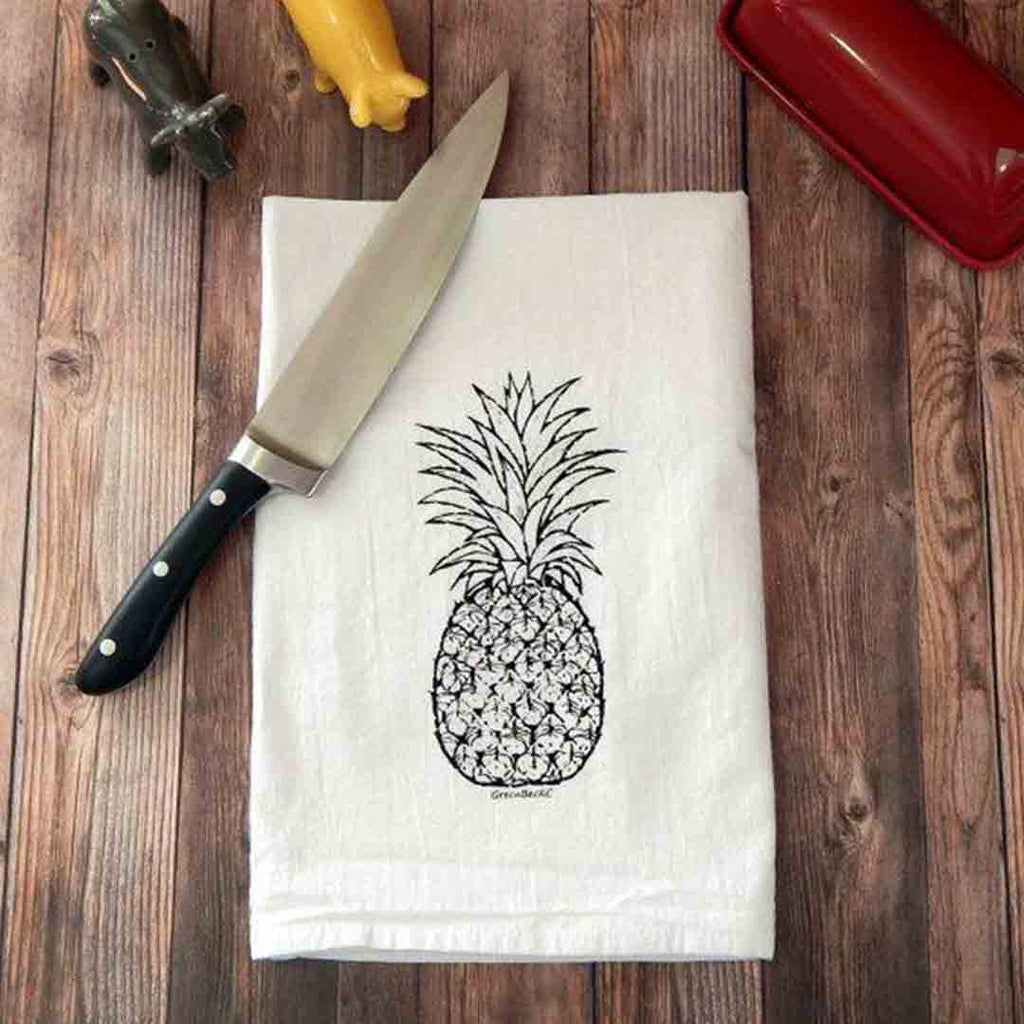 Pineapple Hospitality Flour Sack Tea Towel