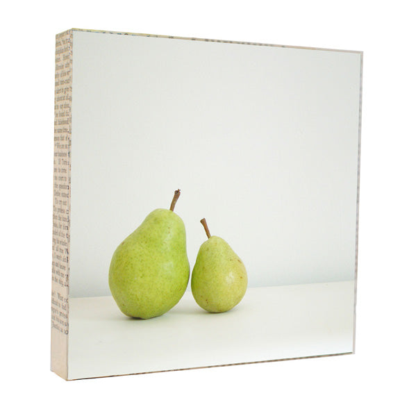 Two Pears 5x5 Art Block