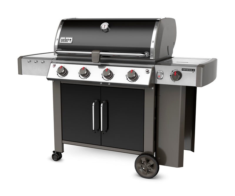 Weber Genesis II LX E-440 Natural Gas Grill, Black - 67014001