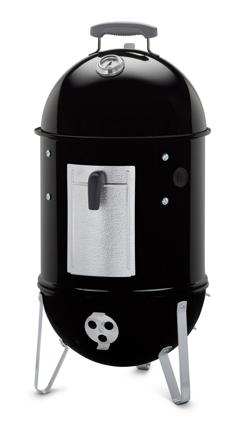 Weber Smokey Mountain Cooker 14-Inch Charcoal Smoker, Black - 711001