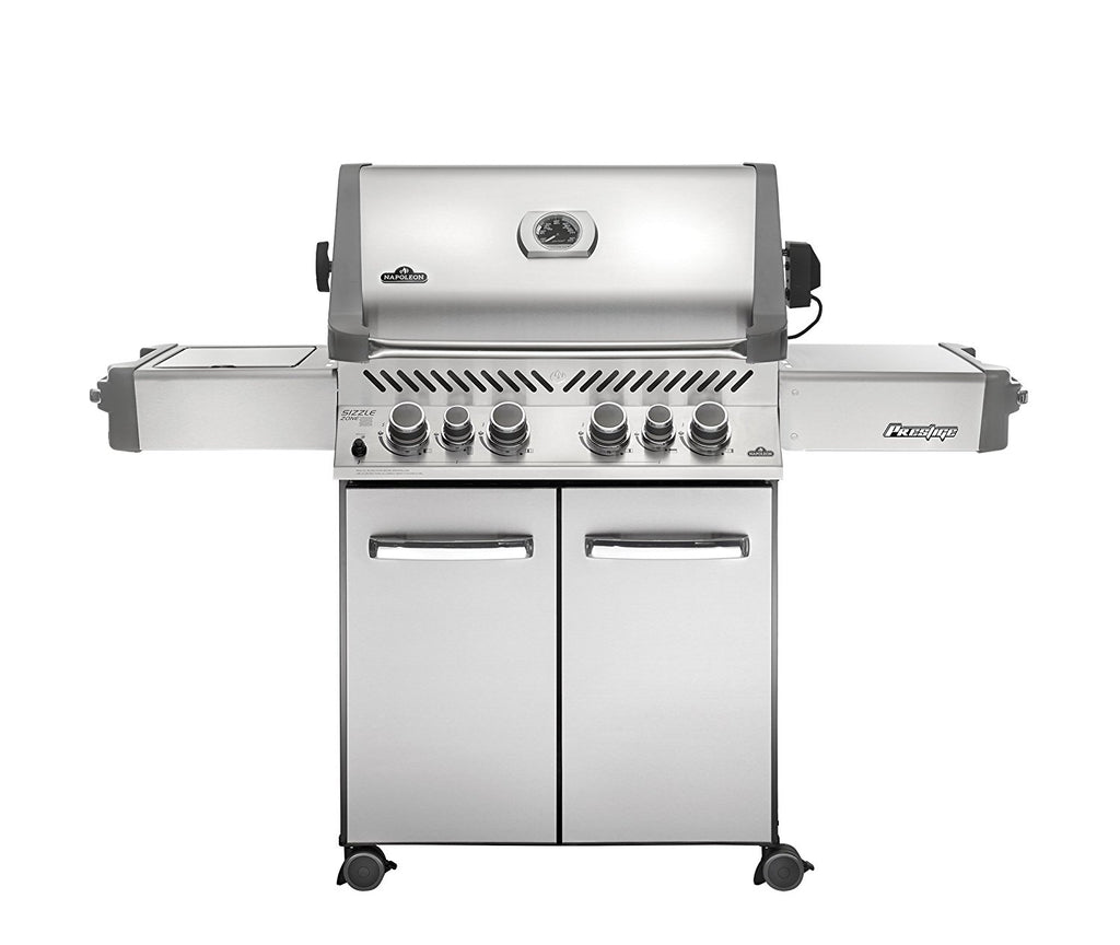 Napoleon   Prestige® 500 with Infrared Side and Rear Burners