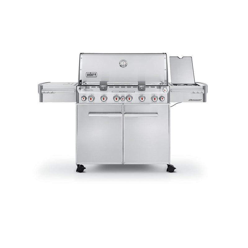 Weber Summit S-670 Stainless-Steel 769-Square-Inch 60, 800-BTU Liquid-Propane Gas Grill - 7370001