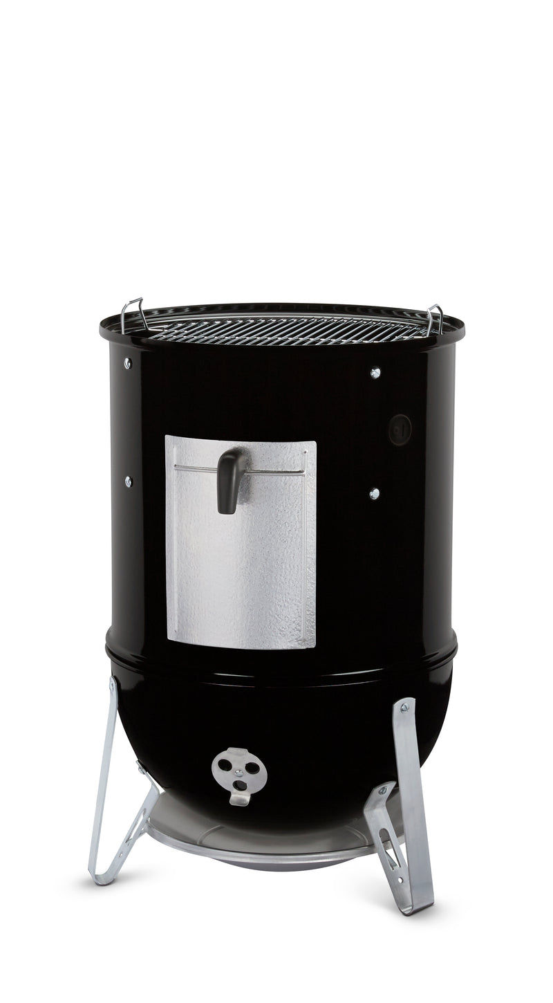 Weber Smokey Mountain Cooker 18-1/2-Inch Charcoal Smoker, Black - 721001
