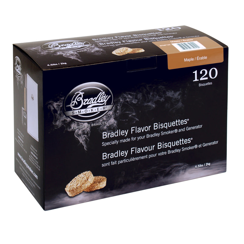 Maple Bisquettes 120-Pack