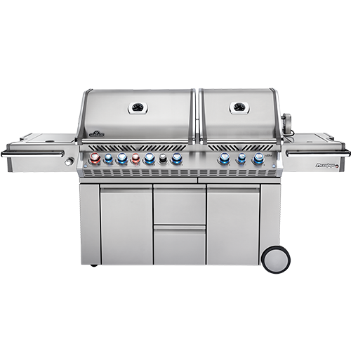 Napoleon Prestige PRO™ 825 with Power Side Burner and Infrared Rear & Bottom Burners