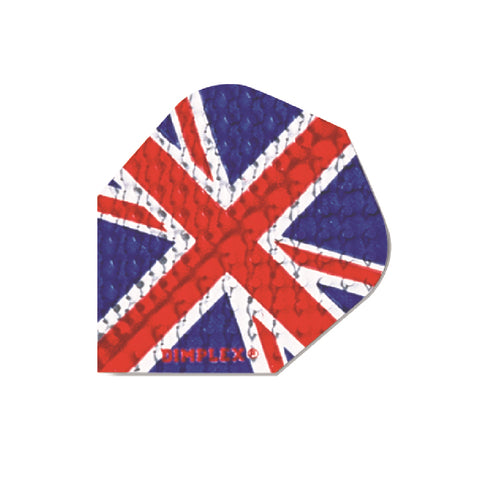 Harrows - Harrows Dimplex 4004 Union Jack Dart Flights - Mad On Darts -  Flights