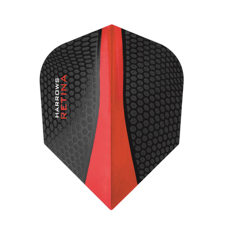 Harrows - Harrows Retina 5500 Red Dart Flights - Mad On Darts -  Flights