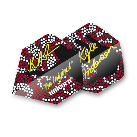 Unicorn - Unicorn Authentic .125 Kyle Anderson The Original Dart Flights - Mad On Darts -  Flights