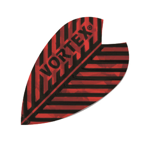 Harrows - Harrows Vortex 9013 Red Dart Flights - Mad On Darts -  Flights