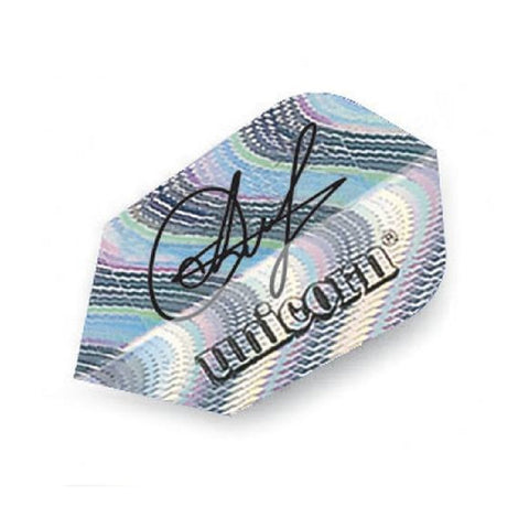 Unicorn - Unicorn Authentic .75 Anastasia Dobromyslova Signature Dart Flights Silver - Mad On Darts -  Flights