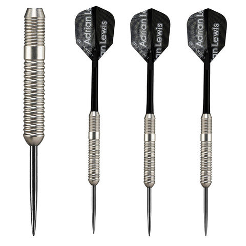Target - Target Adrian Lewis Silver Jackpot Steel Tip Darts - Mad On Darts -  Darts Sets