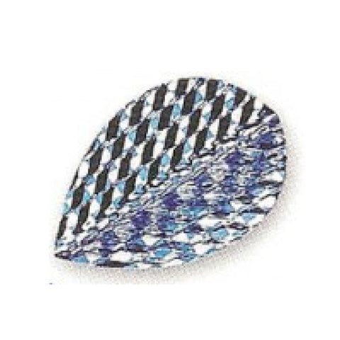 Unicorn - Unicorn Q.75 Chequer Dart Flights - Mad On Darts -  Flights