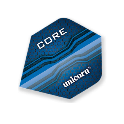 Unicorn - Unicorn Core .75 Core Blue Darts Flights - Mad On Darts -  Flights