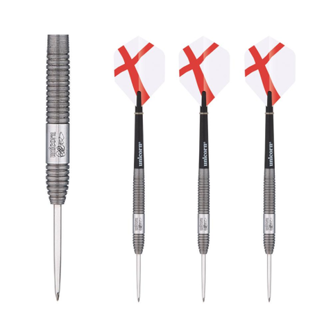 Unicorn - Unicorn Generation 180 Craig Reeves 25g Steel Tip Darts - Mad On Darts -  Darts Sets