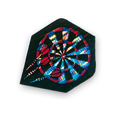 Unicorn - Unicorn Core .75 Hologram Dartboard Dart Flights - Mad On Darts -  Flights