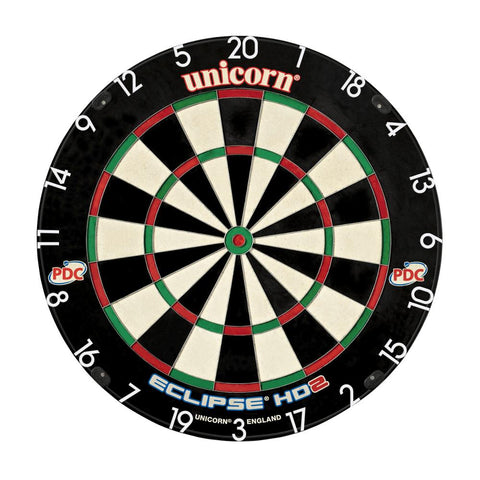 Unicorn - Unicorn Eclipse HD 2 Dartboard - Mad On Darts -  Dartboards & Oche Accessories
