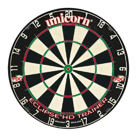 Unicorn - Unicorn Eclipse HD Trainer Dartboard - Mad On Darts -  Dartboards & Oche Accessories