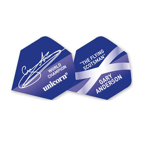 Unicorn - Unicorn Authentic .100 Gary Anderson Signature World Champion Dart Flights - Mad On Darts -  Flights