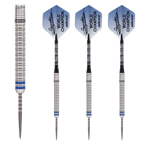 Unicorn - Unicorn Gary Anderson Phase 3 World Champion Steel Tip Darts - Mad On Darts -  Darts Sets