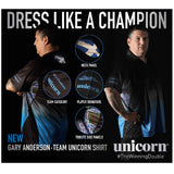 Unicorn - Unicorn Gary Anderson Pro Darts Shirt - Mad On Darts -  Dart Shirts