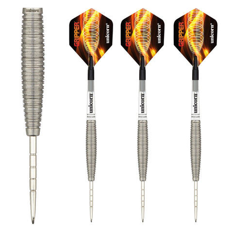Unicorn - Unicorn Gripper 4 II Steel Tip Darts - Mad On Darts -  Darts Sets