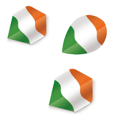 Unicorn - Unicorn Maestro .100 Irish Flag Dart Flights - Mad On Darts -  Flights
