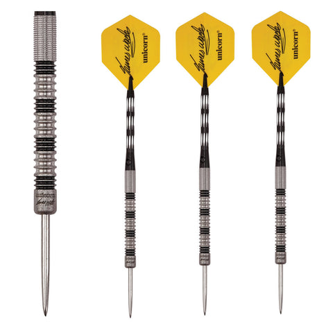 Unicorn - Unicorn James Wade Premier Phase 2 Steel Tip Darts - Mad On Darts -  Darts Sets
