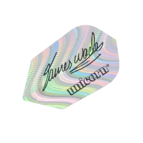 Unicorn - Unicorn James Wade Signature Slim Dart Flights Silver - Mad On Darts -  Flights