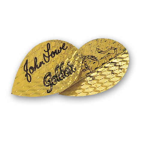 Unicorn - Unicorn Authentic .75 John Lowe Golden Dart Flights - Mad On Darts -  Flights