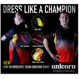 Unicorn - Unicorn Kim Huybrechts Pro Dart Shirt - Mad On Darts -  Dart Shirts