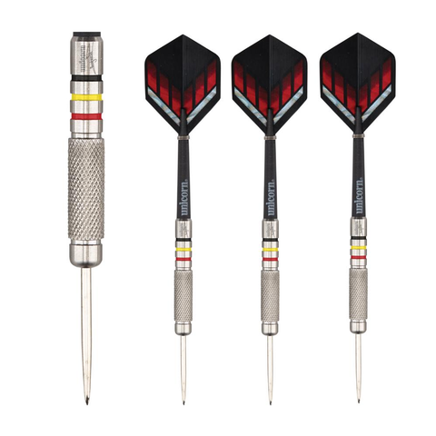 Unicorn - Unicorn Kim Huybrects Silverstar Steel Tip Darts - Mad On Darts -  Darts Sets