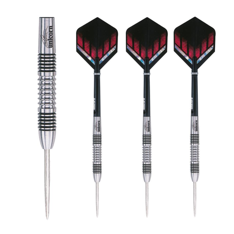 Unicorn - Unicorn Michael Smith Silverstar Steel Tip Darts - Mad On Darts -  Darts Sets