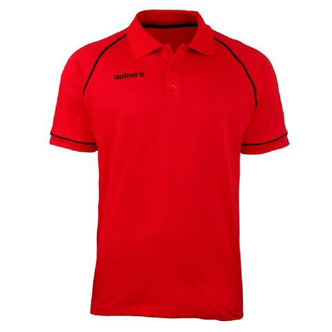 Unicorn - Unicorn Match Polo Shirt Red Black - Mad On Darts -  Dart Shirts